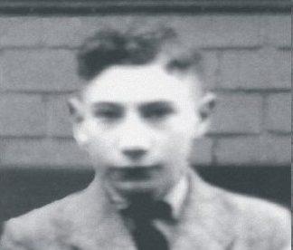 Hans Marburger. Ausschnitt aus einem Klassenfoto, ca. 1935. Stadtarchiv Peine