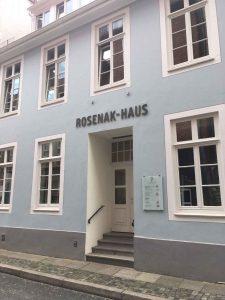 Rosenak-Haus in der Kolpingstraße, Bremen, 2018. Foto: Jana von der Born